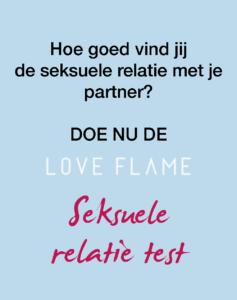 Love Flame Seksuele Relatie Test
